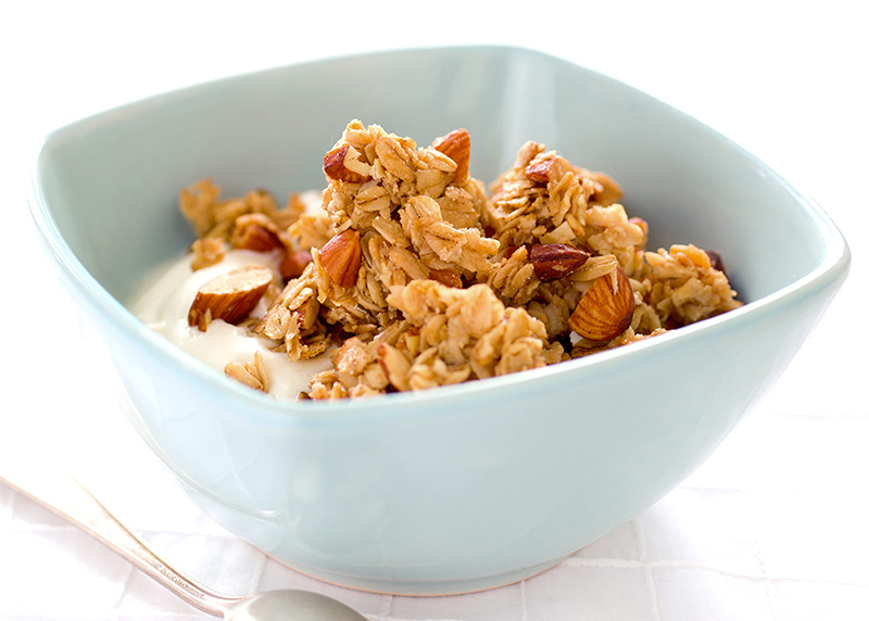 Almond Granola with Dried Fruit