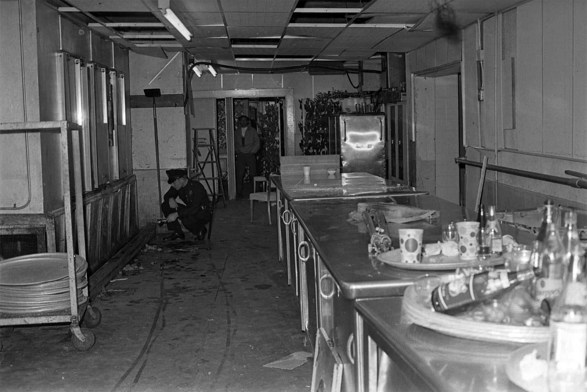 The Ambassador Hotel kitchen where Sen. Robert F. Kennedy was murdered