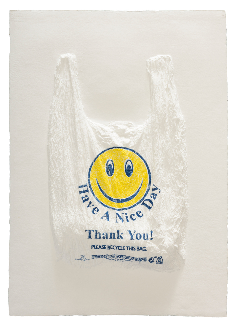 "Analia Saban, ""Have a Nice Day, Thank You! Plastic Bag,"" 2016"