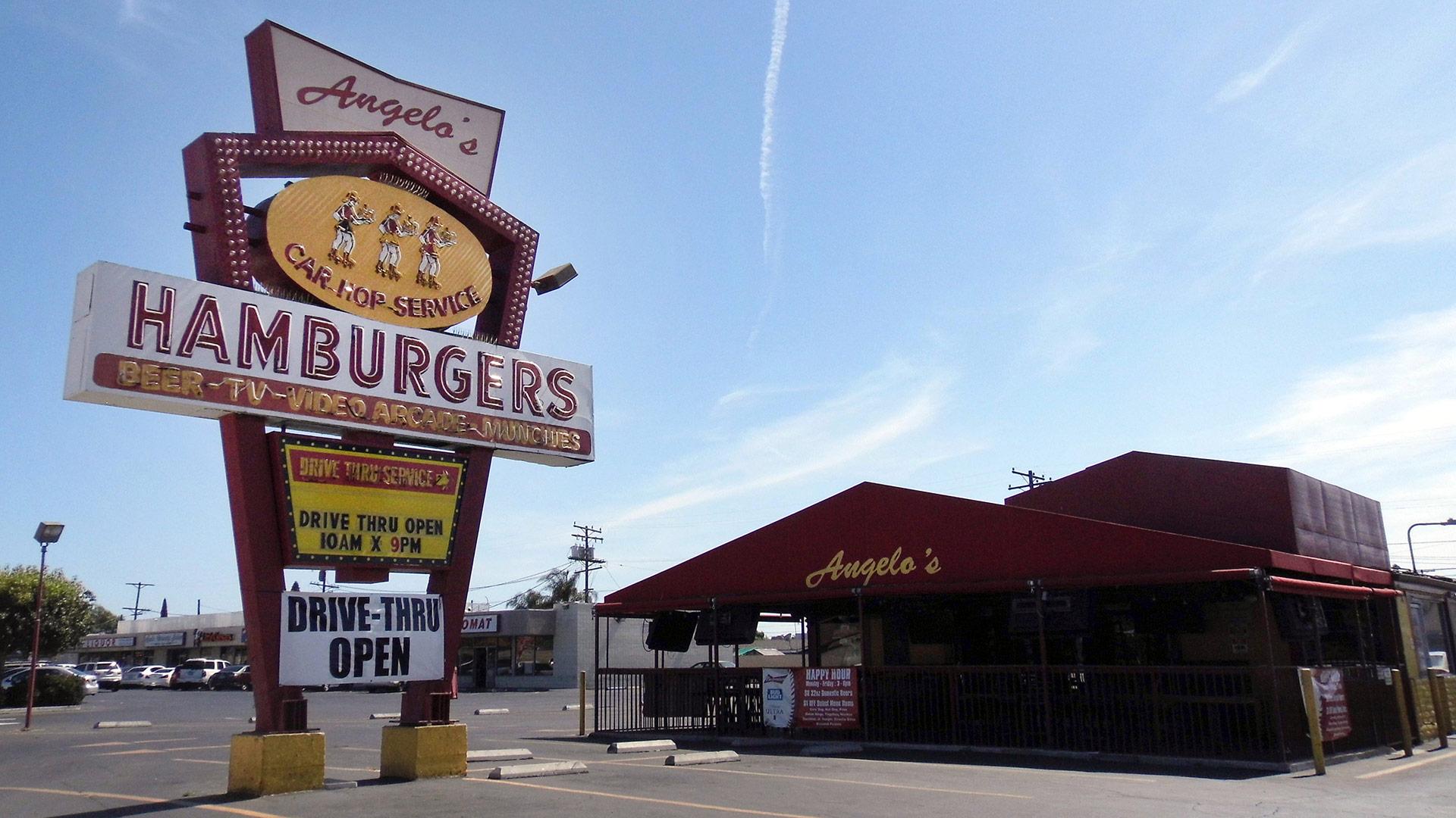 Angelo's Original Drive-In Hamburgers | Sandi Hemmerlein