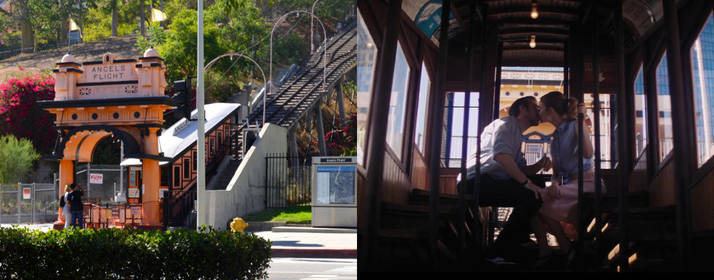 "Angels Flight as seen in ""La La Land,"" the musical starring Emma Stone and Ryan Gosling."