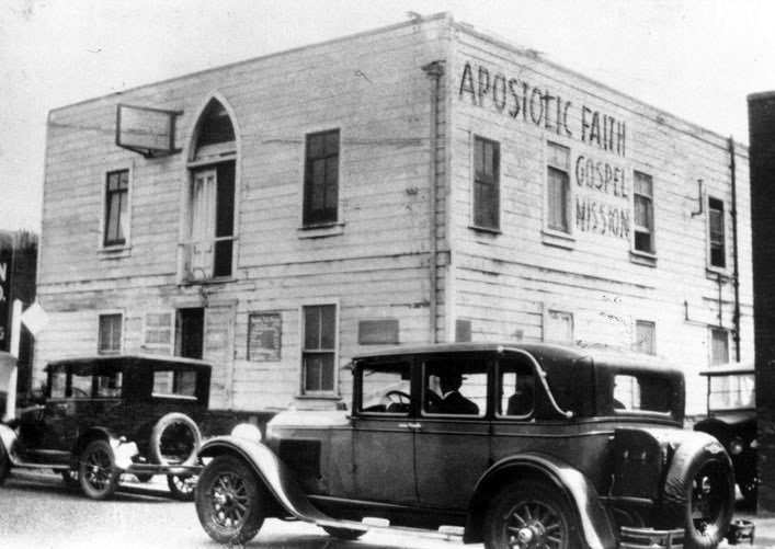 The Apostolic Faith Mission in Los Angeles, the birthplace of modern Pentecostalism