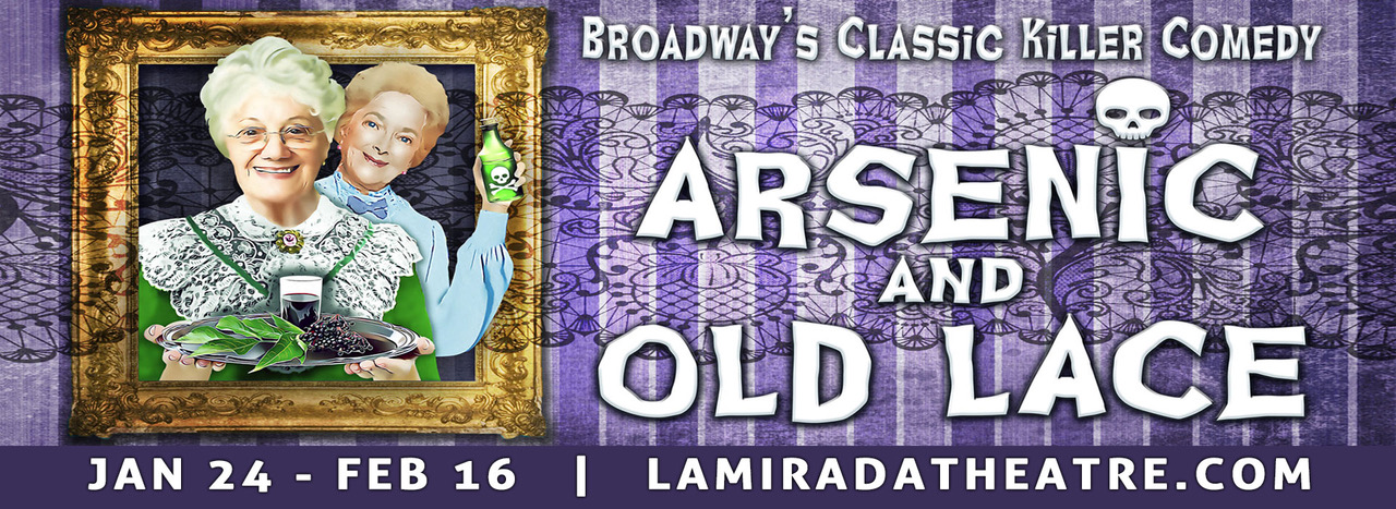 Banner for Arsenic and Old Lace