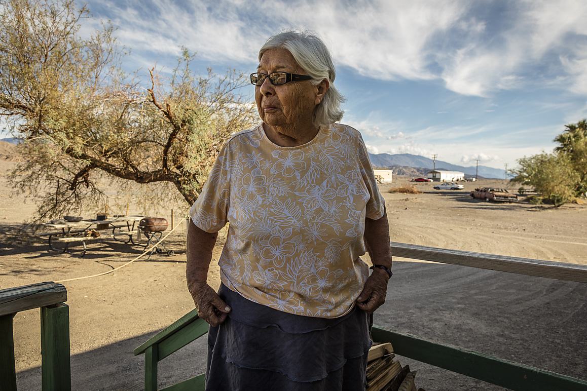 Pauline Esteves, Timbisha Shoshone elder and activist