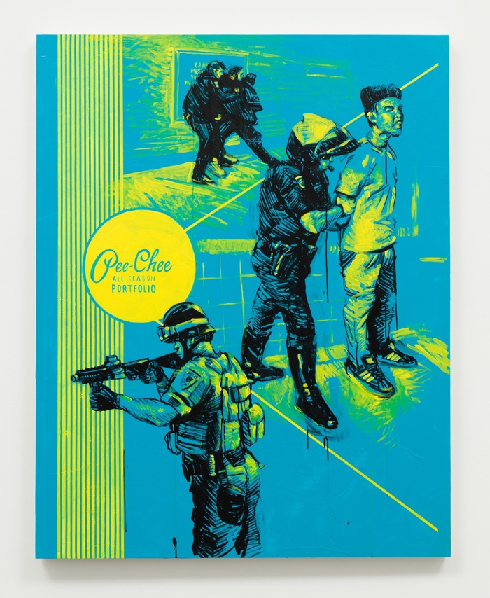 Artist Patrick Martinez re-envisions the Pee-Chee folder
