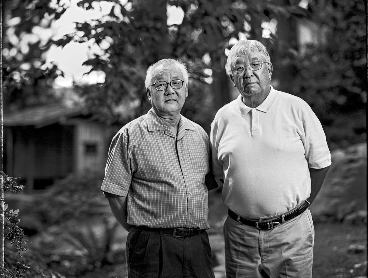 Jerry Aso, 67, and his brother Bill Asano, 70, right, are both dental professionals. | Paul Kitakagi, Jr.