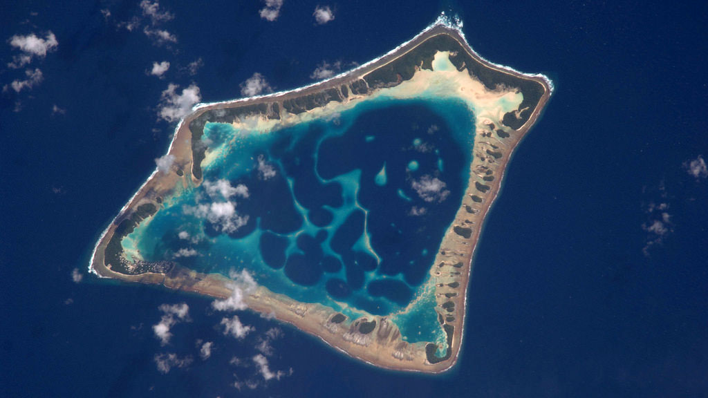Atafu Atoll in the Southern Pacific Ocean| Photo: NASA
