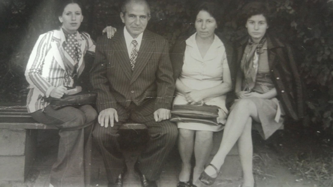 Authors mother, her sister, her father, and her mother in Yerevan in the 70s | Courtesy of the author