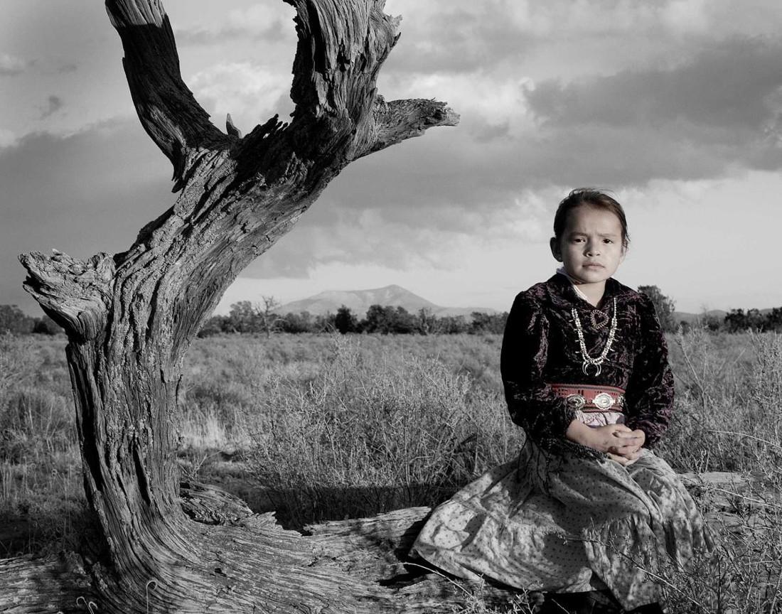 Bahazhoni Tso (Navajo Nation). Photographed by Matika Wilbur for Project 562.
