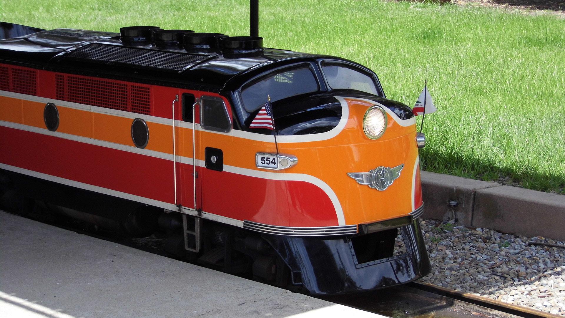 Balboa Park Miniature Train