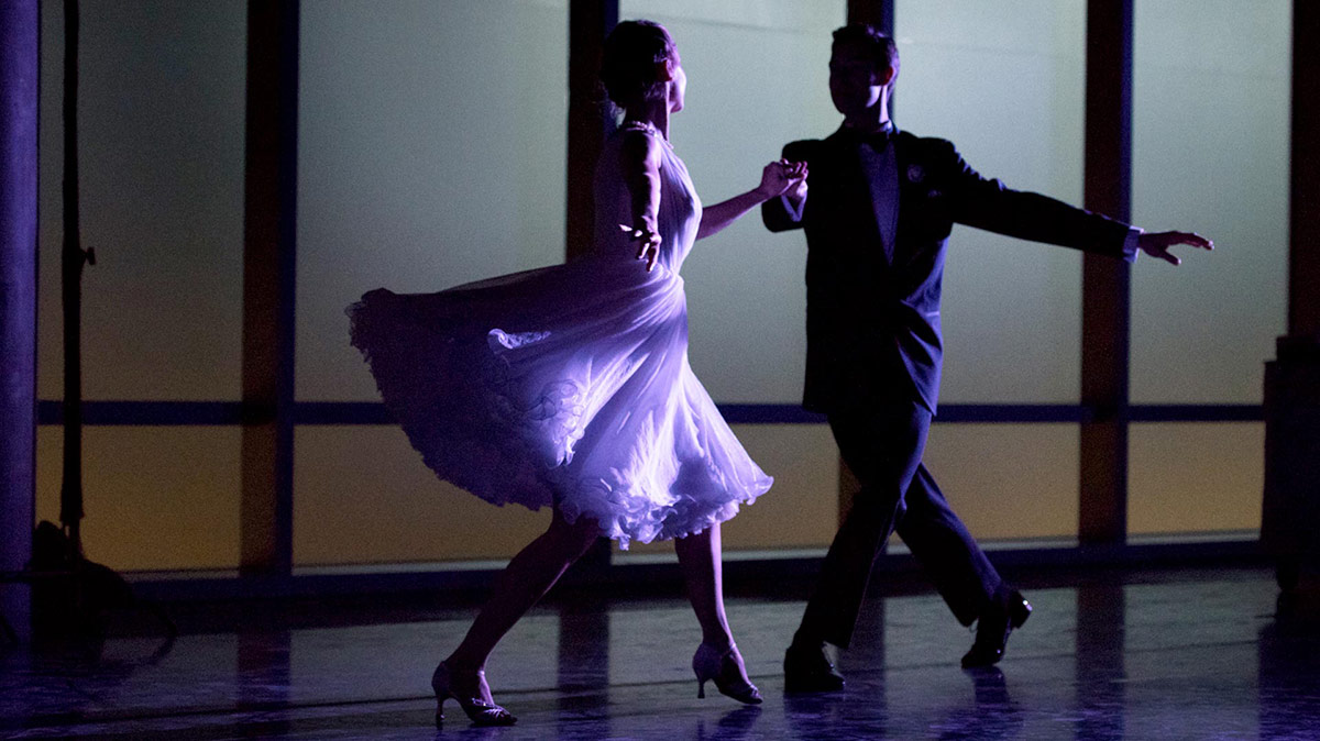 American Contemporary Ballet dancers Sarah Bukowski and Josh Brown dance together. | Pierre Michel-Estival
