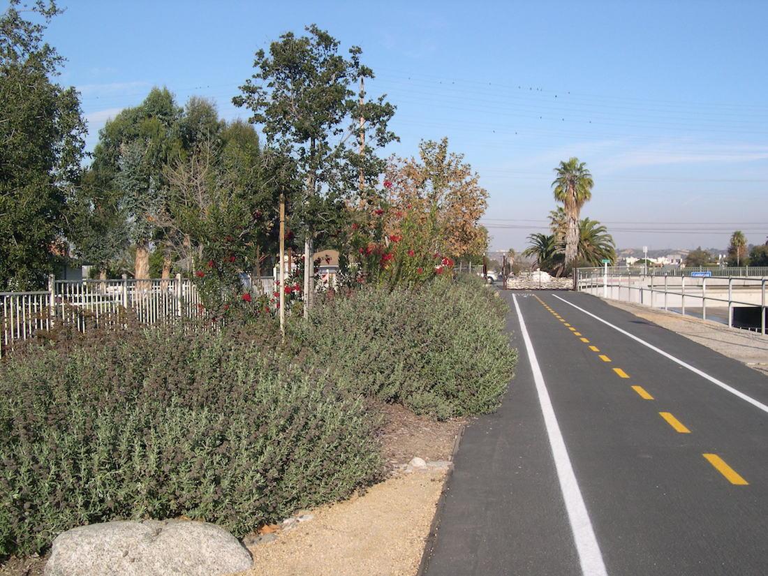 Ballona Creek  Bike Trail