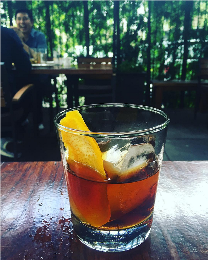 Drink from Bar 1886 at the Raymond