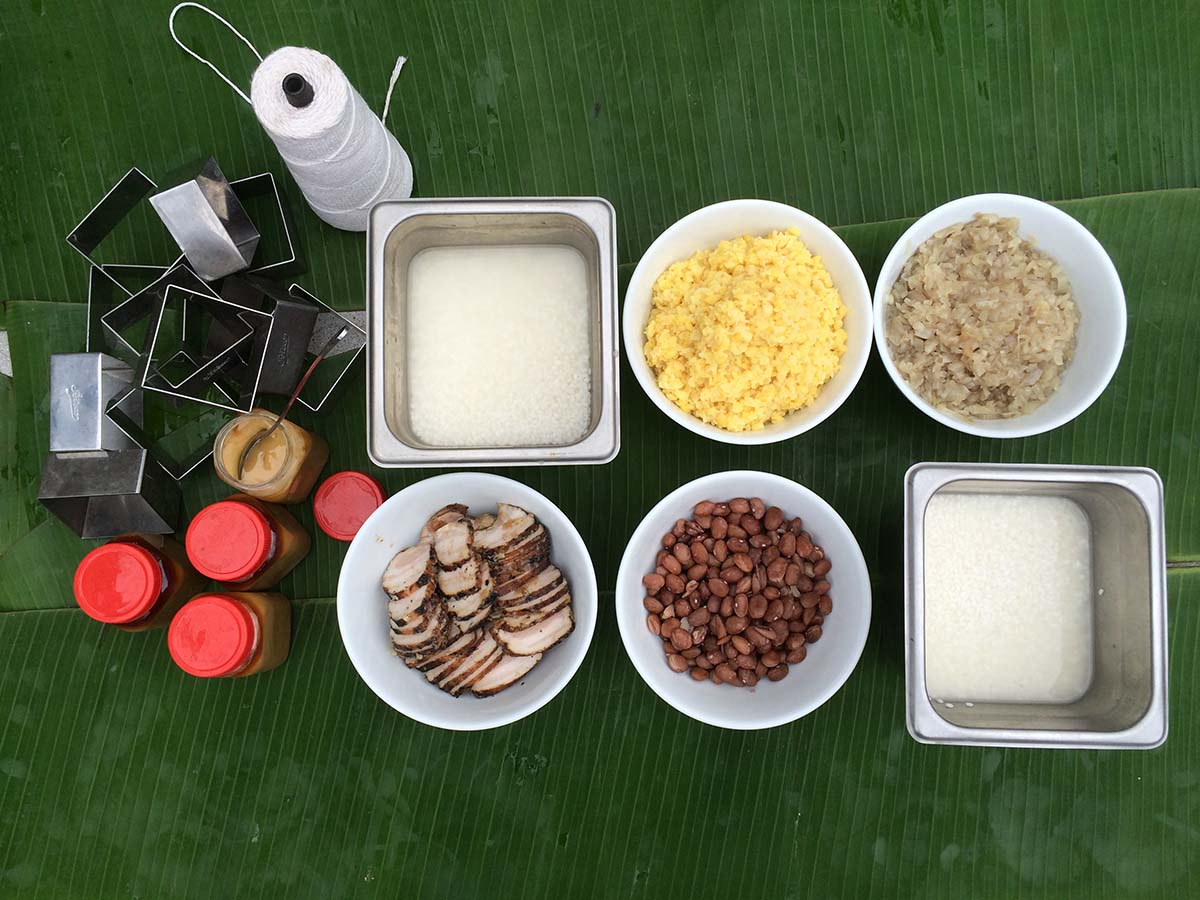 Bánh chưng ingredients | Diep Tran