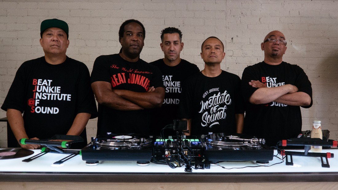 DJs Babu, Mr. Choc, Melo-D, D-Styles and Rhettmatic of the Beat Junkies | Kyle Scoble