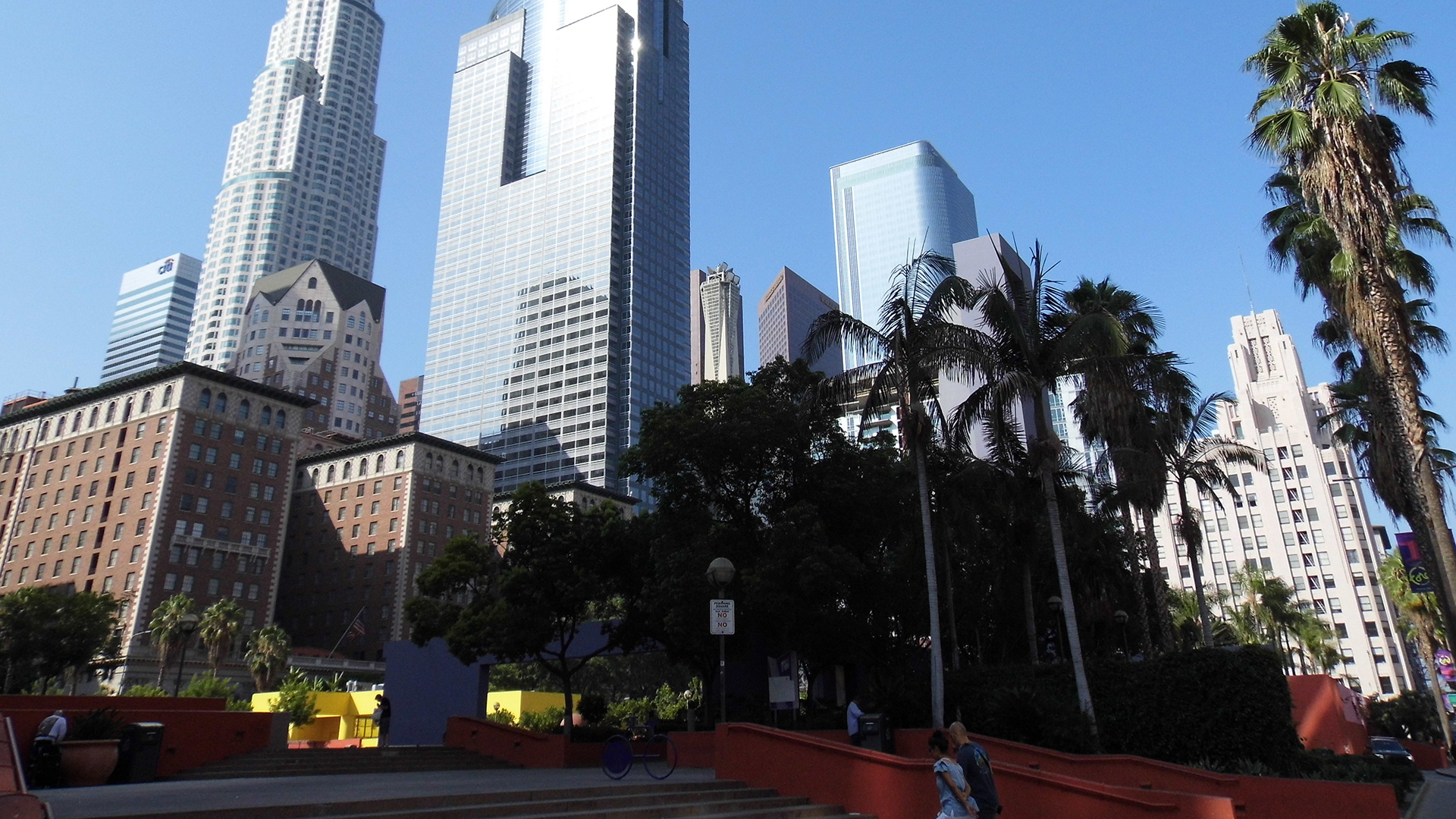 The Biltmore from Pershing Square today |