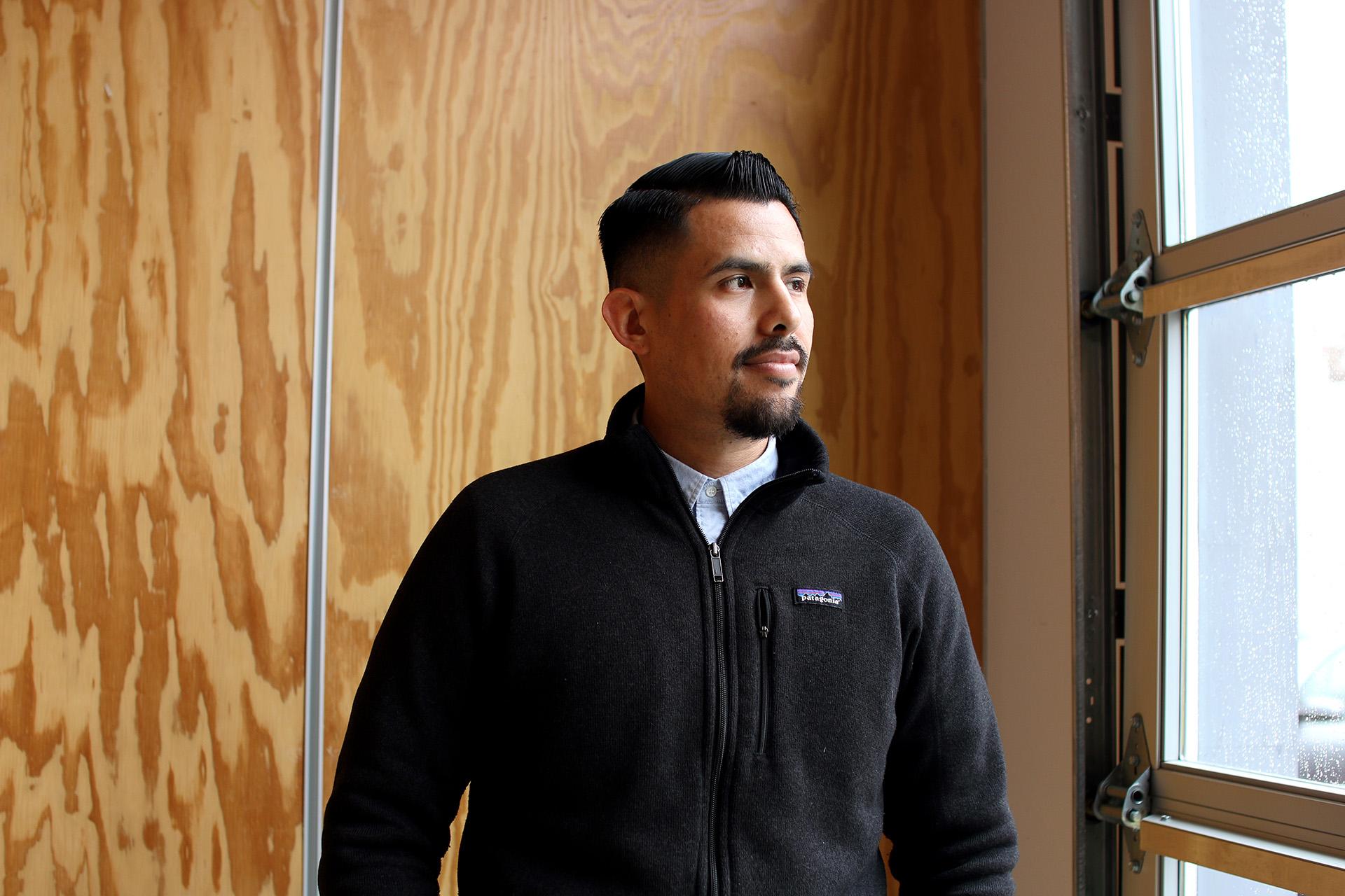 Rudy Espinoza, LURN's executive director | Samanta Helou Hernandez