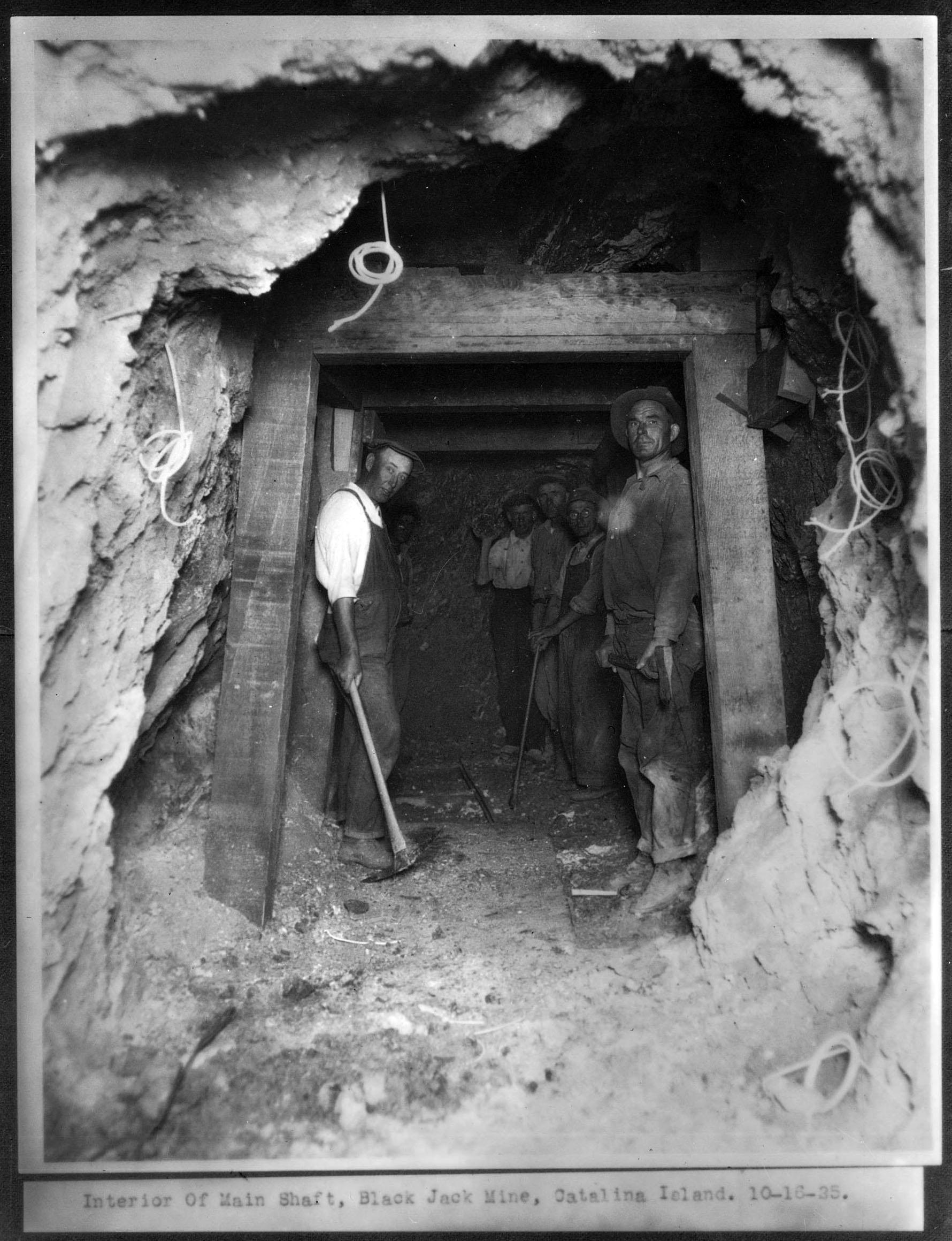 Black Jack Mine, Catalina Island