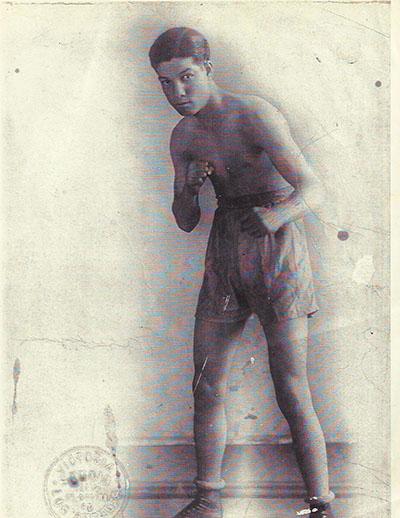 Bobby Herman, prize fighter