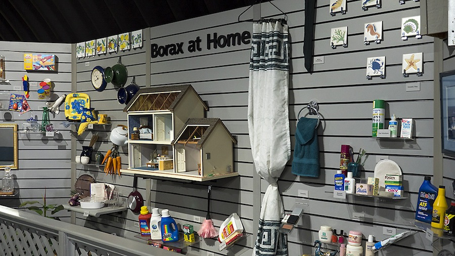 """Borax at Home,"" Twenty Mule Team Museum"