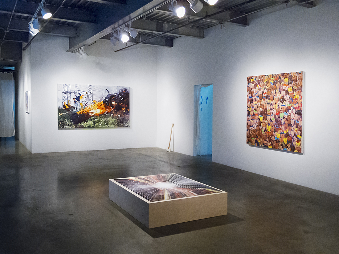 2010 New Empire at RAID Projects, Los Angeles Installation View | Boys of Summer