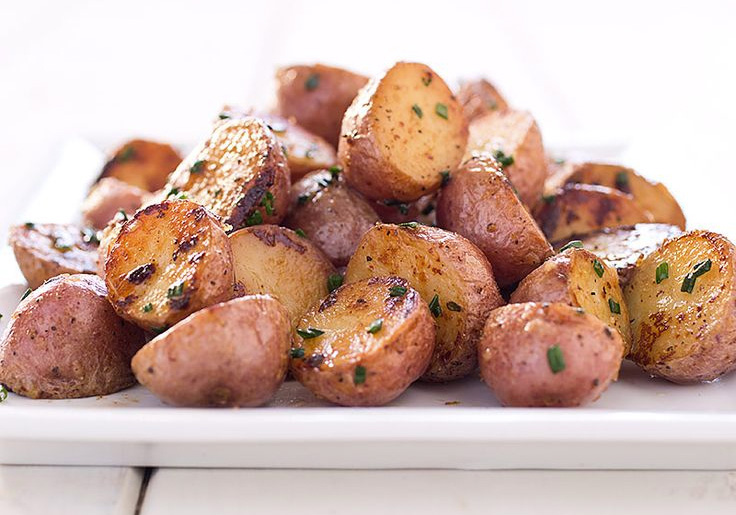 Braised Red Potatoes