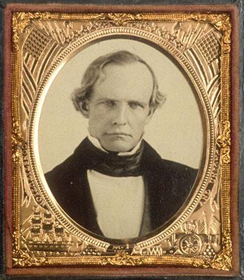 Peter Burnett, first civilian governor of American California