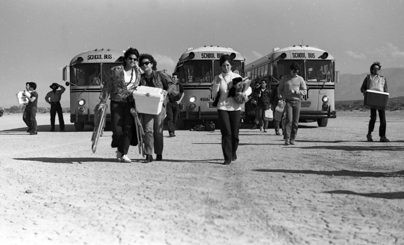 Buses/Coolers, Desolation Center: Mojave Exodus, 1983 | Scot Allen