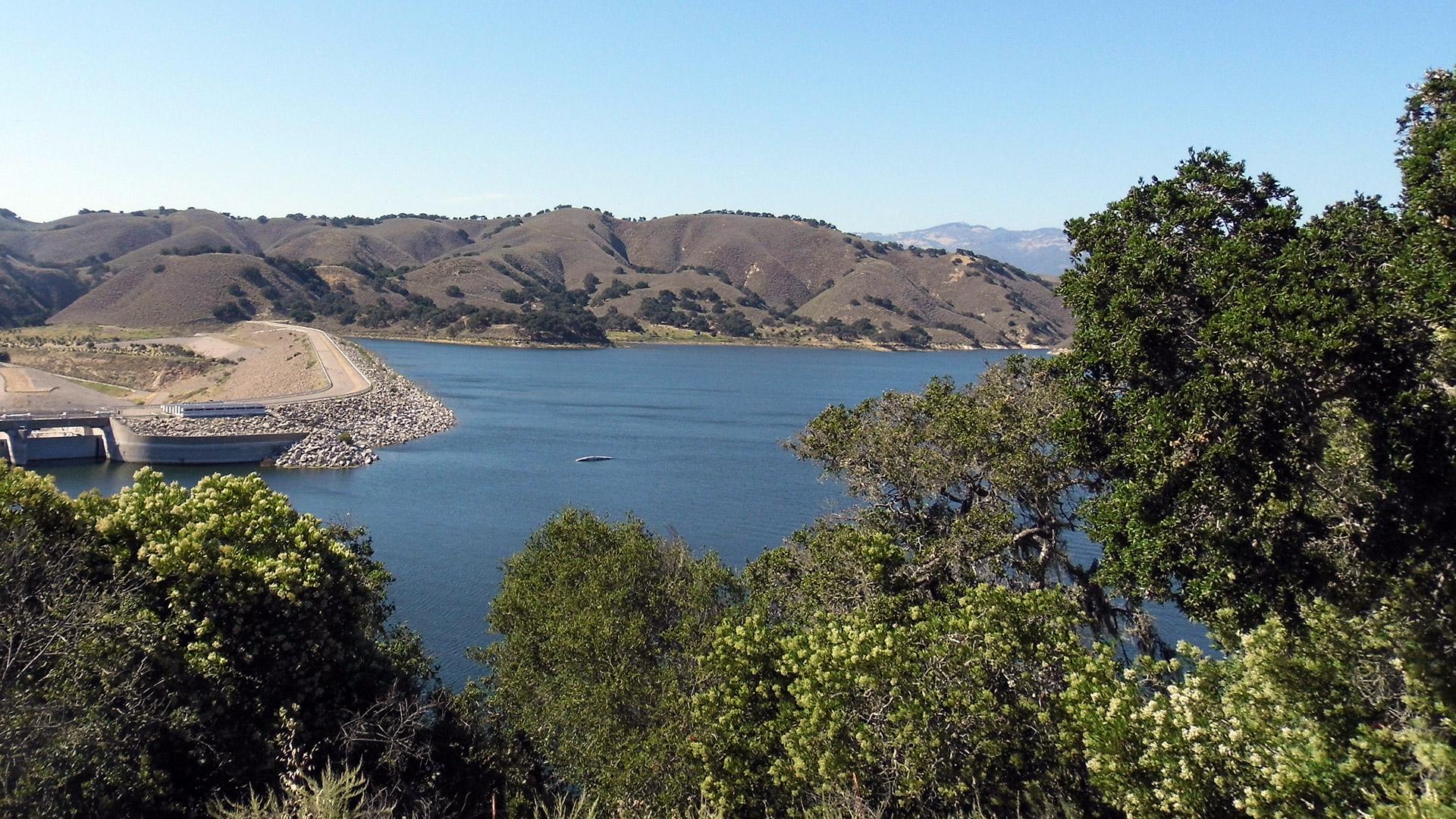 View of Cachuma Lake Recreation Area