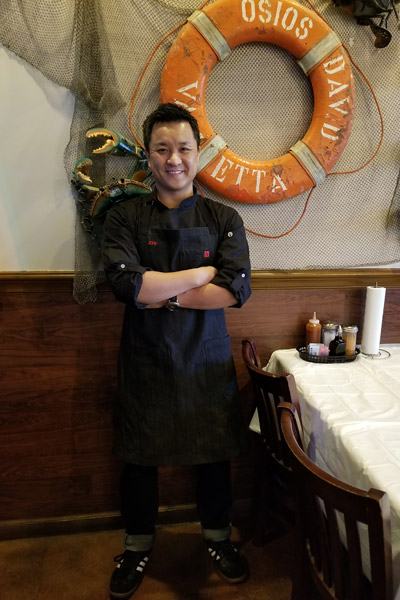 Cajun Kitchen owner, John Nguyen | Cajun Kitchen