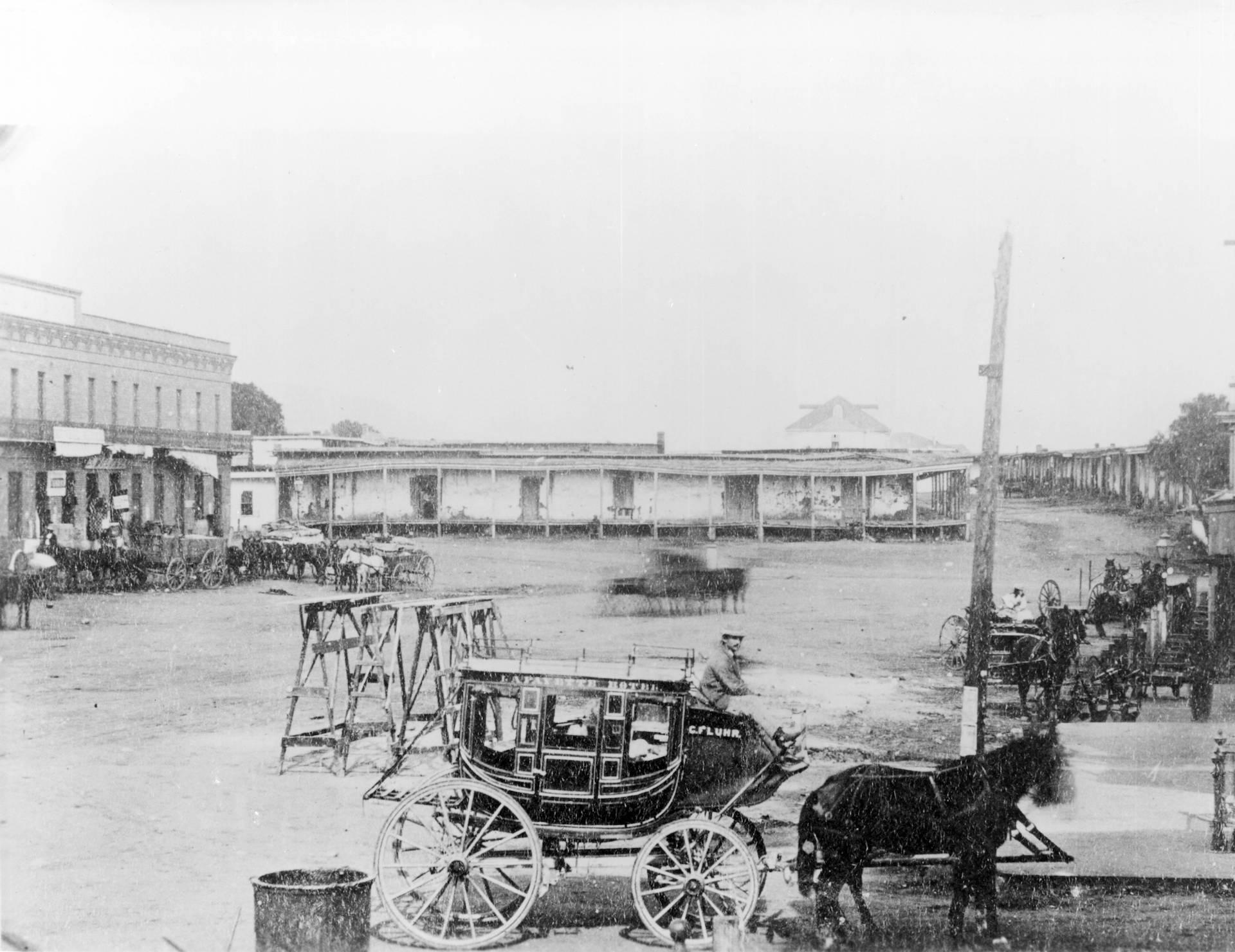 Calle de los Negros, Los Angeles, 1871