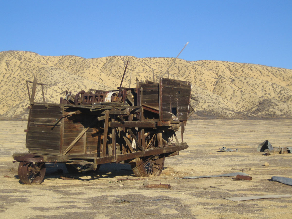 Carrizo Plain: Van Matre Harvester