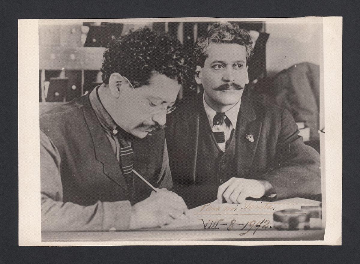 Enrique and Ricardo Flores Magón were both part of Southern California's anarchist movement. | Courtesy of La Casa de El Hijo del Ahuizote