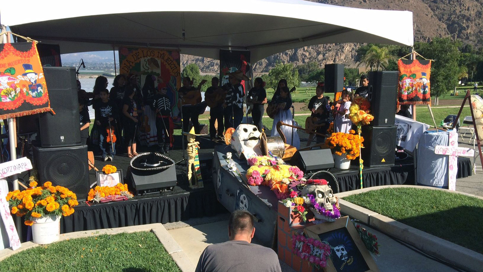 conejo funeral home day of the dead celebration