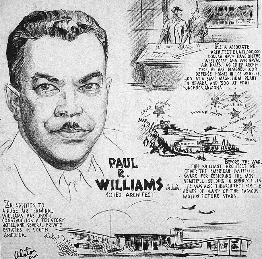 "Charles Alston, ""Paul R. Williams,"" 1943. 