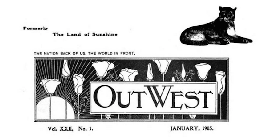 Out West edited by Charles Lummis