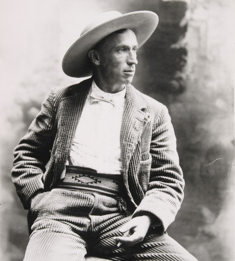 Portrait of Charles FletcherLummis.