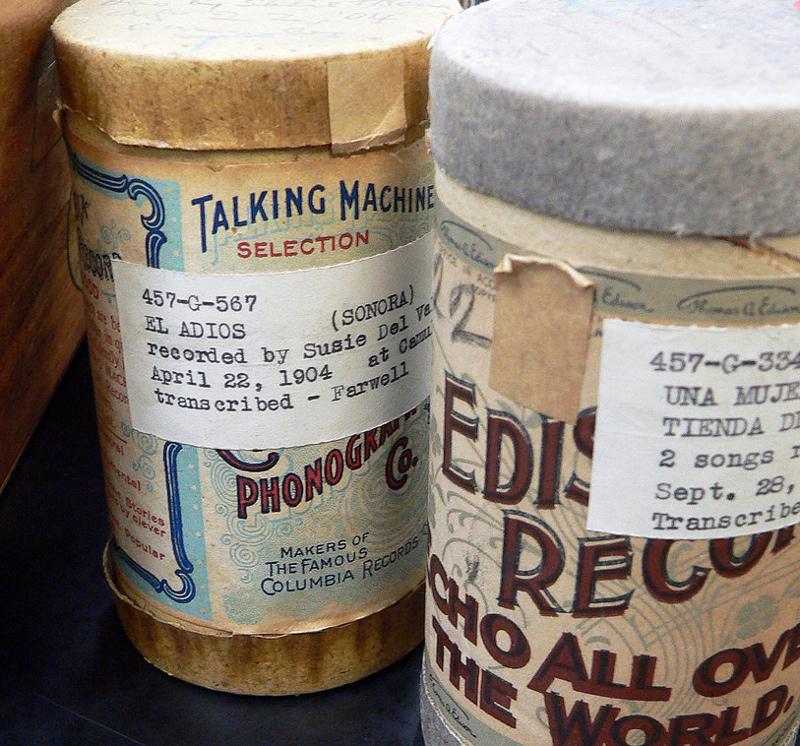 Charles Lummis' wax cylinder recordings