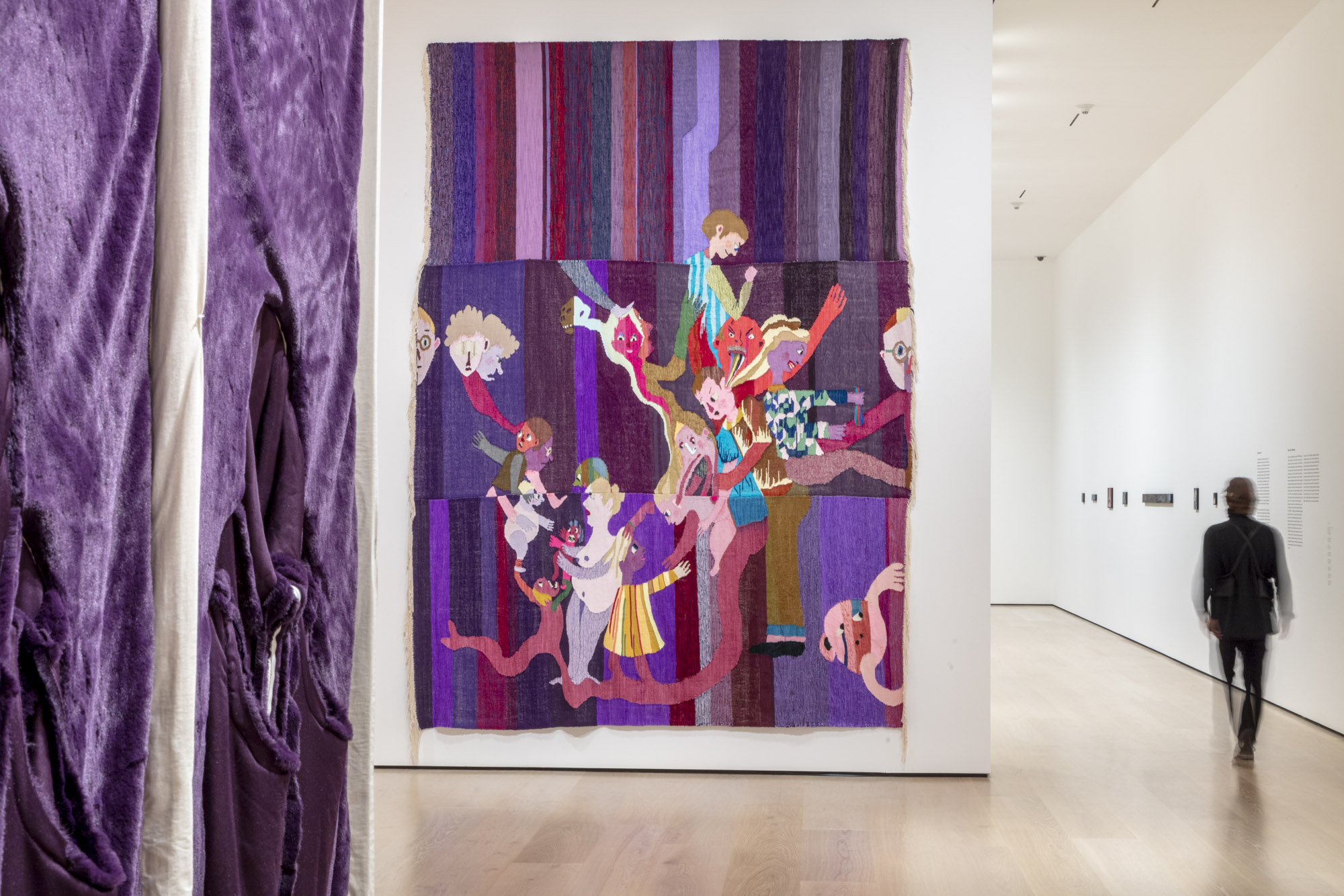 """An installation view of Christina Forrer's work at """"Made in L.A. 2020: a version."""" at Hammer Museum, Los Angeles. 