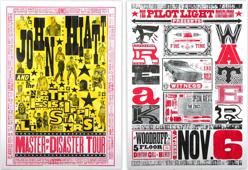Sample works from Church of Type | Courtesy of Church of Type