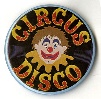 Circus Disco button