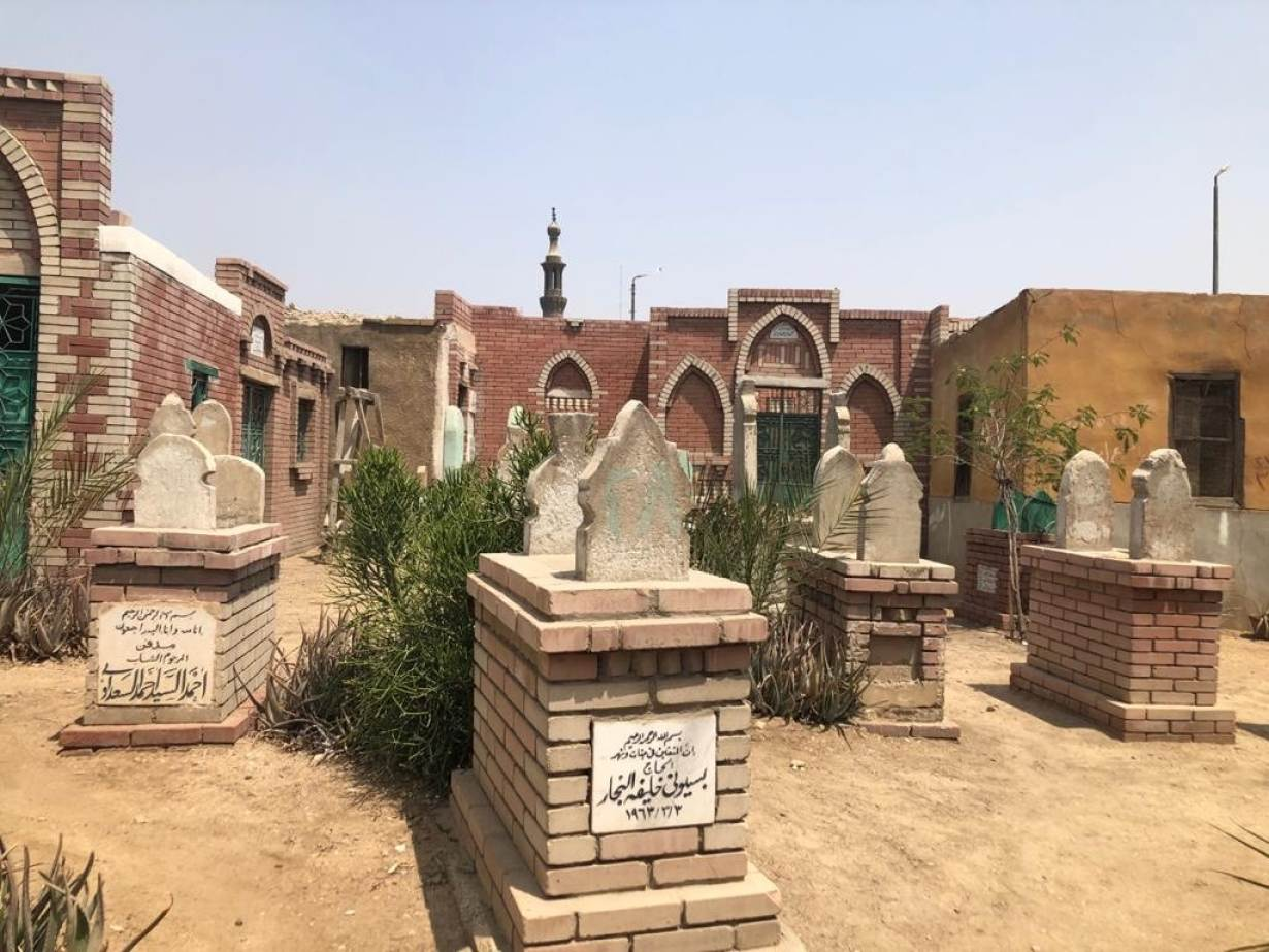 Egypt's City of the Dead falls silent and cautious as coronavirus has taken its toll on everyday life in Egypt. April 17, 2020. | Thomson Reuters Foundation/Menna A. Farouk