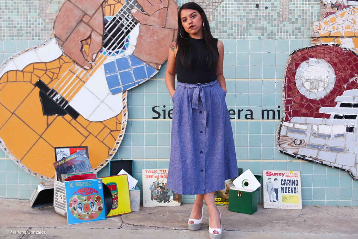 Chulita Vinyl Club founder Claudia Saenz | Mariana Gonzales
