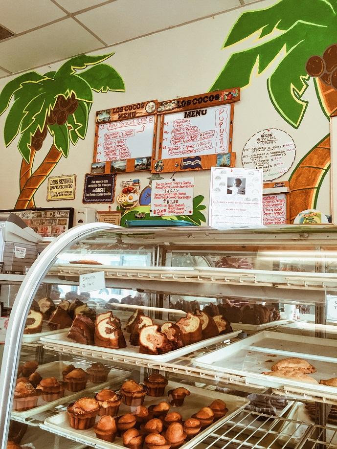 Cocos Panaderia Menu