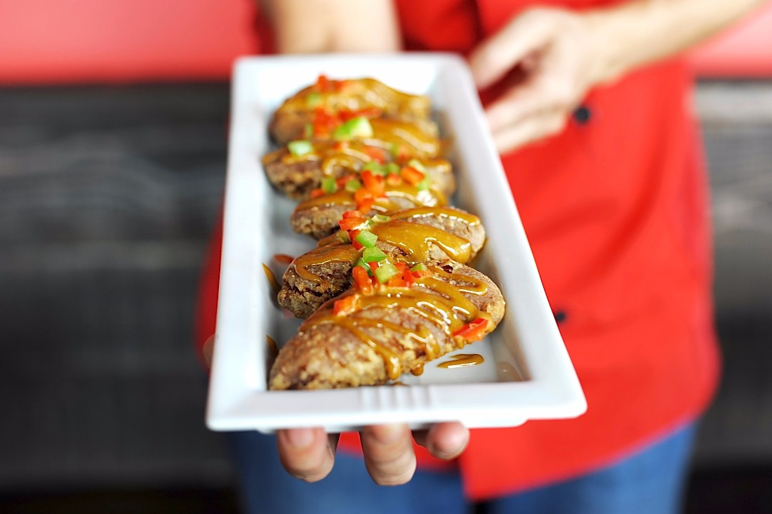 Coffee chicken wings at Bistro Mon Cheri | Eddie Lin