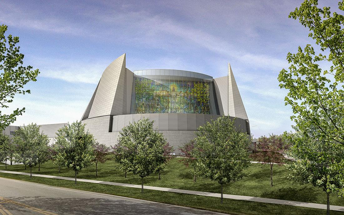 Church of Resurrection | Courtesy of Judson Studios