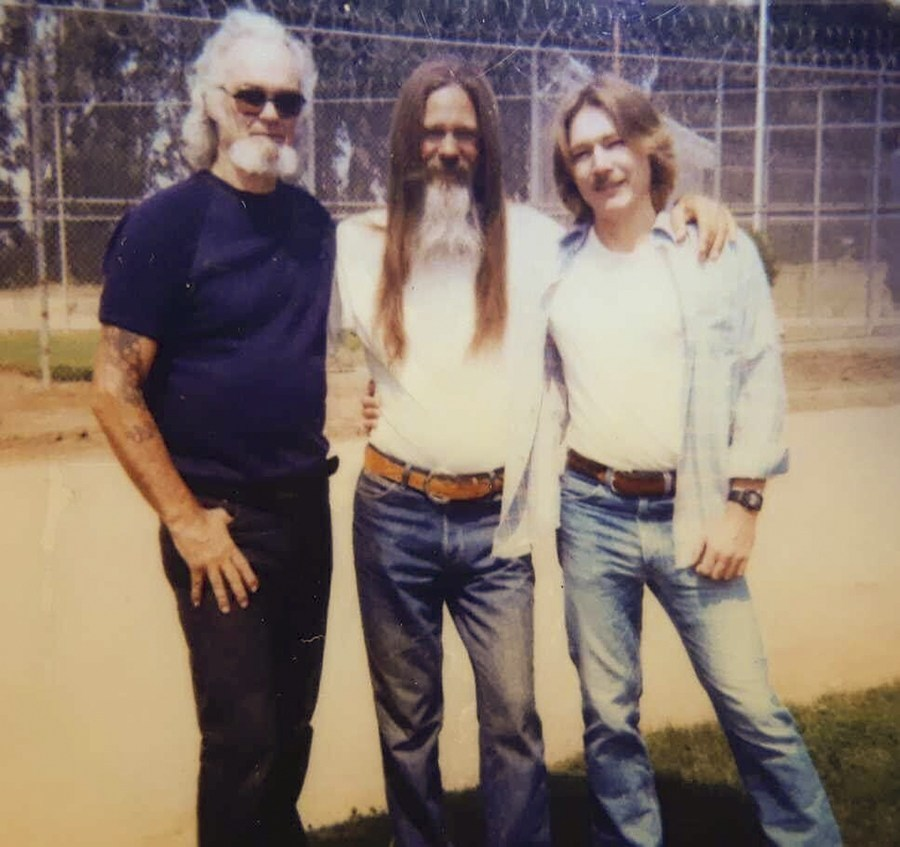 Vance, right, in a photo taken in 1986, has been eligible for parole for more than two decades and has multiple medical concerns but has not qualified for early release from San Quentin. | Courtesy of Vance, via CalMatters