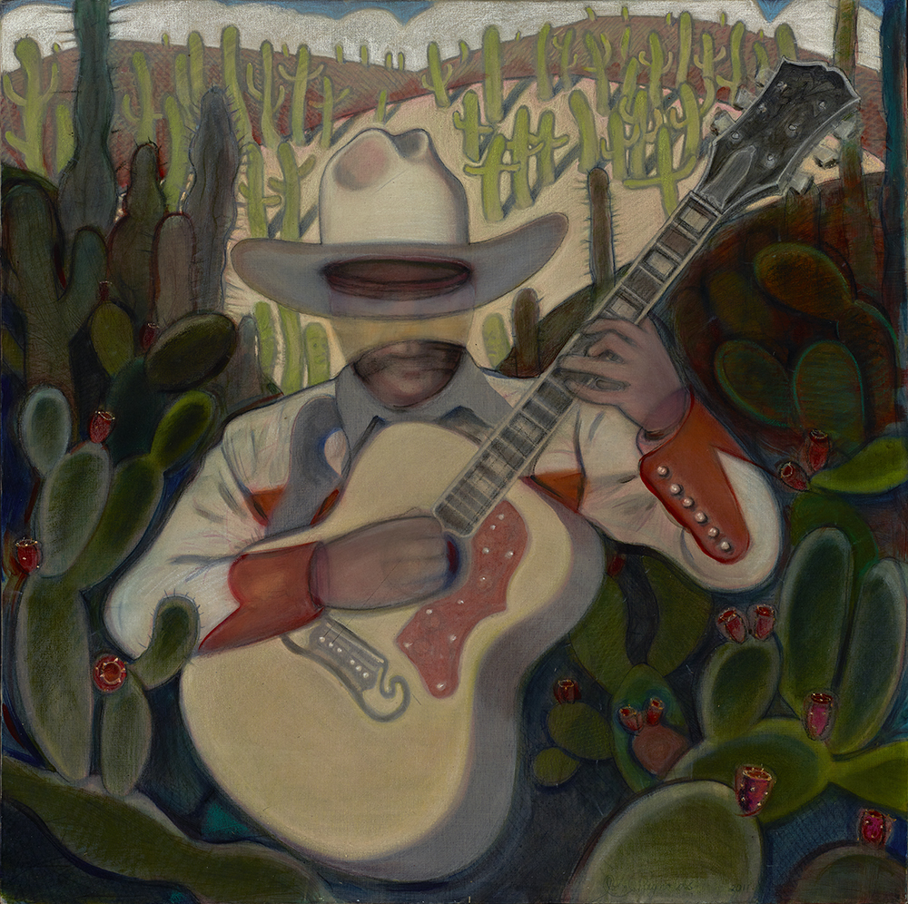 """John Reynolds, """"Cowboy In The Catcus."""" 