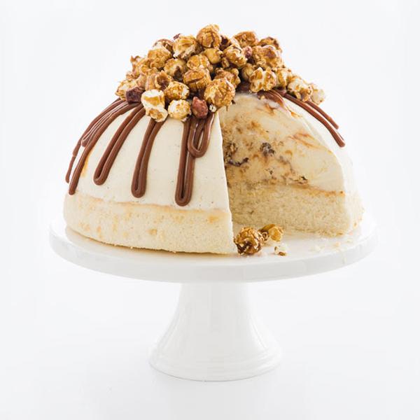 Cracker Jack Ice Cream Cake