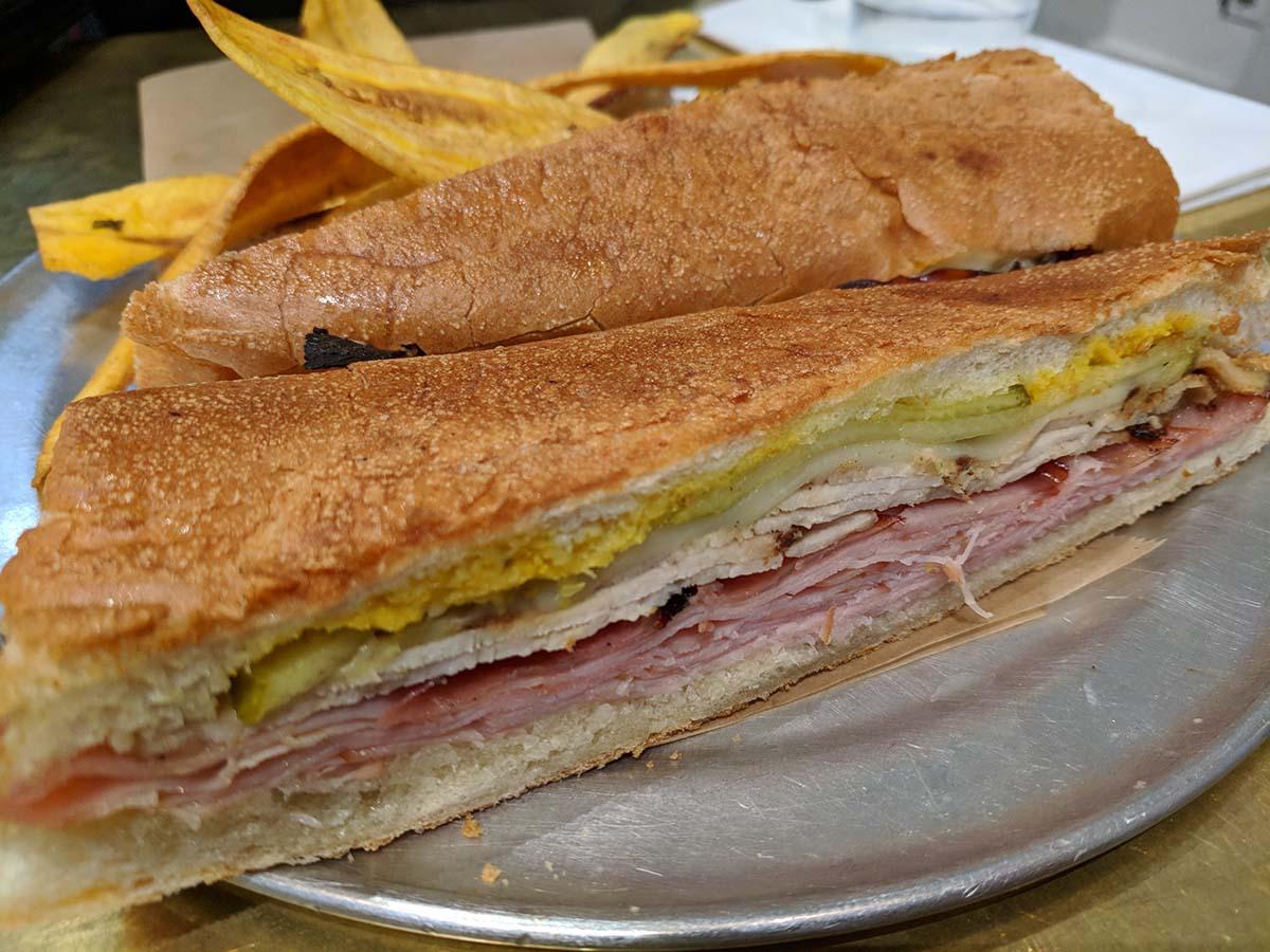 The Cubano sandwich at Don Francisco Casa Cubana | Courtesy of Gaviña Coffee Company